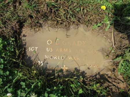 "GRADY (VETERAN WWII), O L ""COTTON"" - Jackson County, Arkansas | O L ""COTTON"" GRADY (VETERAN WWII) - Arkansas Gravestone Photos"
