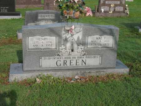 GREEN, HENRY - Jackson County, Arkansas | HENRY GREEN - Arkansas Gravestone Photos