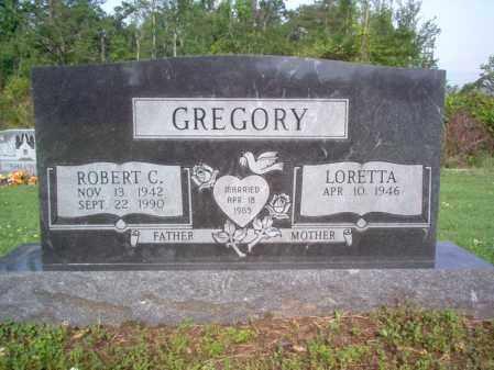 GREGORY, ROBERT CURTIS - Jackson County, Arkansas | ROBERT CURTIS GREGORY - Arkansas Gravestone Photos