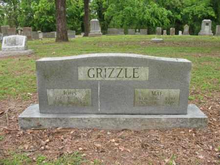 GRIZZLE, MAE - Jackson County, Arkansas | MAE GRIZZLE - Arkansas Gravestone Photos