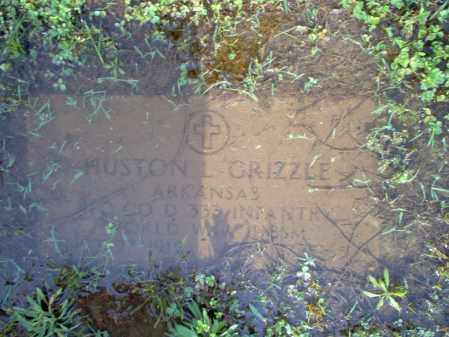 GRIZZLE (VETERAN WWII), HUSTON L - Jackson County, Arkansas | HUSTON L GRIZZLE (VETERAN WWII) - Arkansas Gravestone Photos