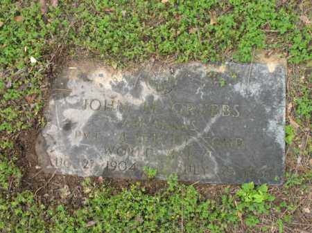 GRUBBS (VETERAN WWII), JOHN M - Jackson County, Arkansas | JOHN M GRUBBS (VETERAN WWII) - Arkansas Gravestone Photos