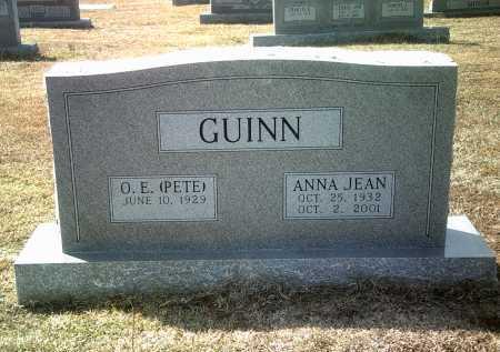 GUINN, ANNA JEAN - Jackson County, Arkansas | ANNA JEAN GUINN - Arkansas Gravestone Photos