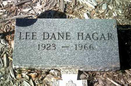 HAGAR, LEE DANE - Jackson County, Arkansas   LEE DANE HAGAR - Arkansas Gravestone Photos