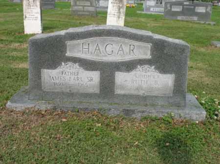 HAGAR, SR, JAMES EARL - Jackson County, Arkansas | JAMES EARL HAGAR, SR - Arkansas Gravestone Photos