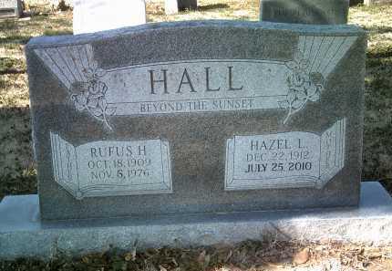 HALL, RUFUS H - Jackson County, Arkansas   RUFUS H HALL - Arkansas Gravestone Photos