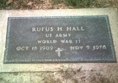 HALL (VETERAN WWII), RUFUS H - Jackson County, Arkansas | RUFUS H HALL (VETERAN WWII) - Arkansas Gravestone Photos