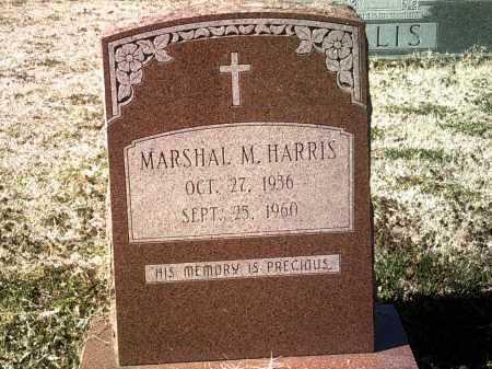 HARRIS, MARSHAL M - Jackson County, Arkansas | MARSHAL M HARRIS - Arkansas Gravestone Photos