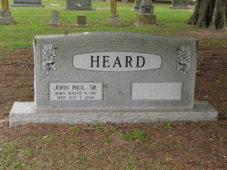 HEARD, SR, JOHN PAUL - Jackson County, Arkansas | JOHN PAUL HEARD, SR - Arkansas Gravestone Photos