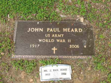 HEARD, SR (VETERAN WWII), JOHN PAUL - Jackson County, Arkansas | JOHN PAUL HEARD, SR (VETERAN WWII) - Arkansas Gravestone Photos