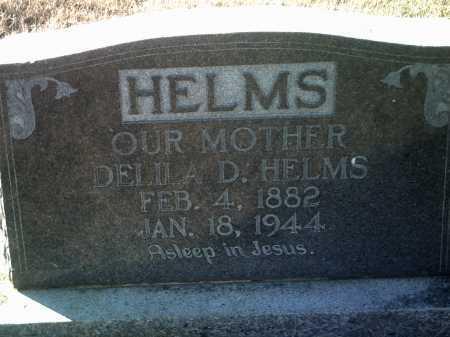 HELMS, DELILA D. - Jackson County, Arkansas   DELILA D. HELMS - Arkansas Gravestone Photos