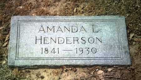 HENDERSON, AMANDA L - Jackson County, Arkansas   AMANDA L HENDERSON - Arkansas Gravestone Photos