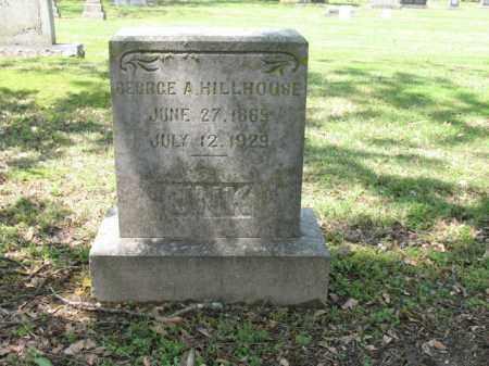 HILLHOUSE, GEORGE A - Jackson County, Arkansas | GEORGE A HILLHOUSE - Arkansas Gravestone Photos