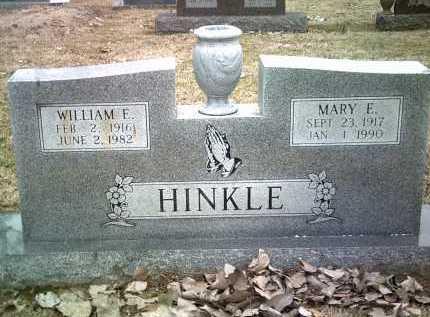 HINKLE, SR, WILLIAM EDGAR - Jackson County, Arkansas | WILLIAM EDGAR HINKLE, SR - Arkansas Gravestone Photos