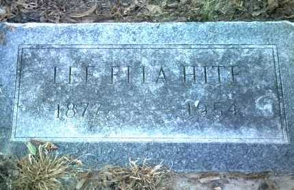 HITE, LEE ELLA - Jackson County, Arkansas | LEE ELLA HITE - Arkansas Gravestone Photos