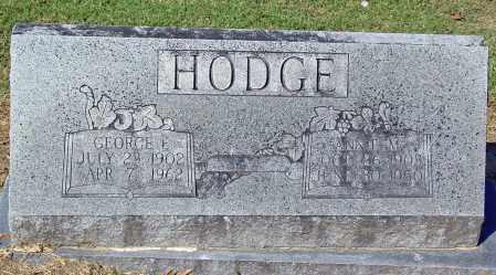 MILLER HODGE, ANNIE M - Jackson County, Arkansas | ANNIE M MILLER HODGE - Arkansas Gravestone Photos