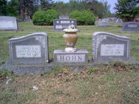 HOHN, FINIS E - Jackson County, Arkansas | FINIS E HOHN - Arkansas Gravestone Photos