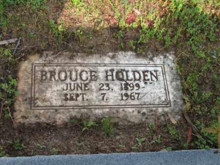 HOLDEN, BROUCE - Jackson County, Arkansas | BROUCE HOLDEN - Arkansas Gravestone Photos