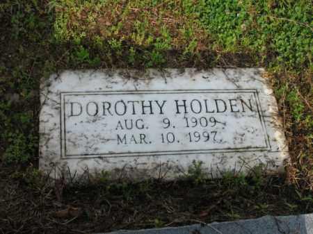 HOLDEN, DOROTHY - Jackson County, Arkansas   DOROTHY HOLDEN - Arkansas Gravestone Photos