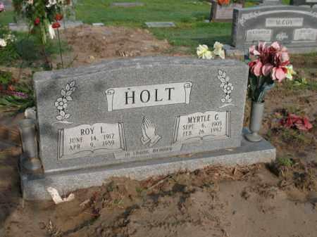 HOLT, MYRTLE G - Jackson County, Arkansas | MYRTLE G HOLT - Arkansas Gravestone Photos