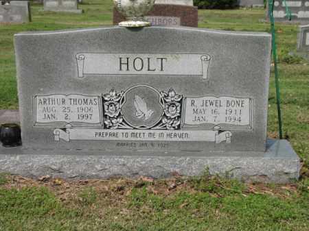 HOLT, SR, ARTHUR THOMAS - Jackson County, Arkansas | ARTHUR THOMAS HOLT, SR - Arkansas Gravestone Photos