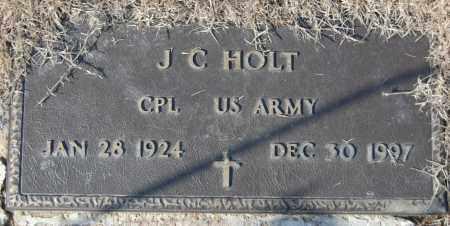 HOLT (VETERAN), J C - Jackson County, Arkansas | J C HOLT (VETERAN) - Arkansas Gravestone Photos