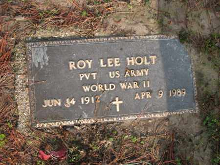 HOLT (VETERAN WWII), ROY LEE - Jackson County, Arkansas | ROY LEE HOLT (VETERAN WWII) - Arkansas Gravestone Photos