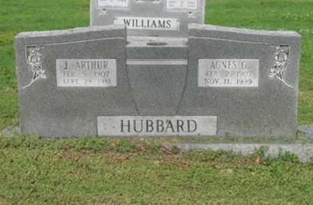 HUBBARD, J ARTHUR - Jackson County, Arkansas   J ARTHUR HUBBARD - Arkansas Gravestone Photos