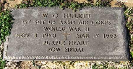 HULETT  (VETERAN WWII, POW), W O - Jackson County, Arkansas   W O HULETT  (VETERAN WWII, POW) - Arkansas Gravestone Photos