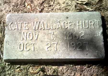 WALLACE HURT, KATE - Jackson County, Arkansas | KATE WALLACE HURT - Arkansas Gravestone Photos