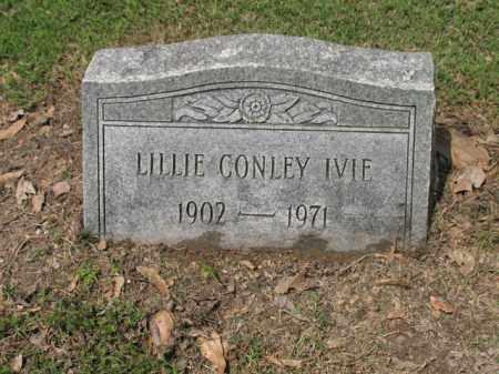 CONLEY IVIE, LILLIE - Jackson County, Arkansas   LILLIE CONLEY IVIE - Arkansas Gravestone Photos