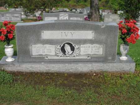 IVY, SYLVESTER OTIS - Jackson County, Arkansas | SYLVESTER OTIS IVY - Arkansas Gravestone Photos