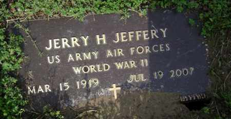 JEFFERY (VETERAN WWII), JERRY H - Jackson County, Arkansas | JERRY H JEFFERY (VETERAN WWII) - Arkansas Gravestone Photos