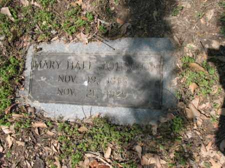 HALL JOHNSON, MARY - Jackson County, Arkansas | MARY HALL JOHNSON - Arkansas Gravestone Photos