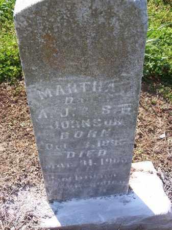 JOHNSON, MARTHA J - Jackson County, Arkansas | MARTHA J JOHNSON - Arkansas Gravestone Photos