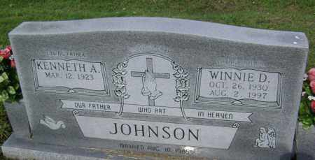 JOHNSON, WINNIE D - Jackson County, Arkansas | WINNIE D JOHNSON - Arkansas Gravestone Photos