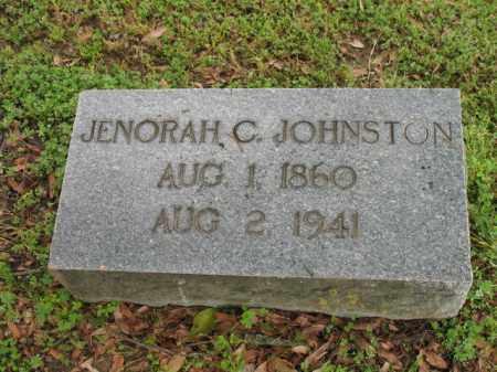 JOHNSTON, JENORAH C - Jackson County, Arkansas | JENORAH C JOHNSTON - Arkansas Gravestone Photos