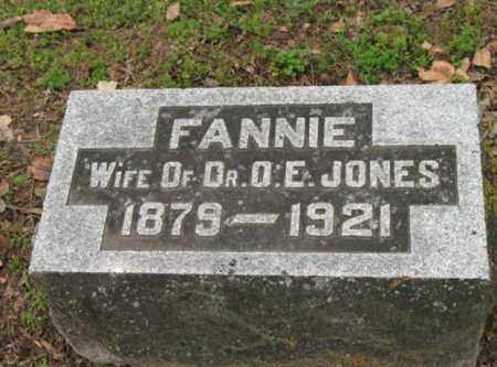 JONES, FANNIE - Jackson County, Arkansas | FANNIE JONES - Arkansas Gravestone Photos