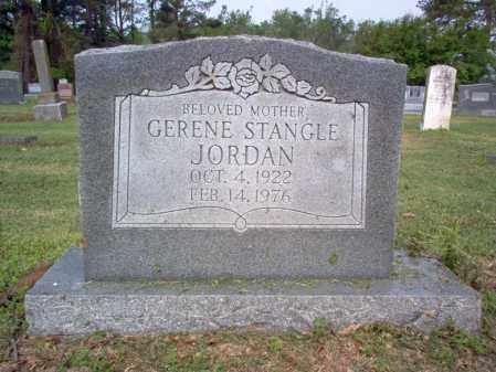 STANGLE JORDAN, GERENE - Jackson County, Arkansas | GERENE STANGLE JORDAN - Arkansas Gravestone Photos