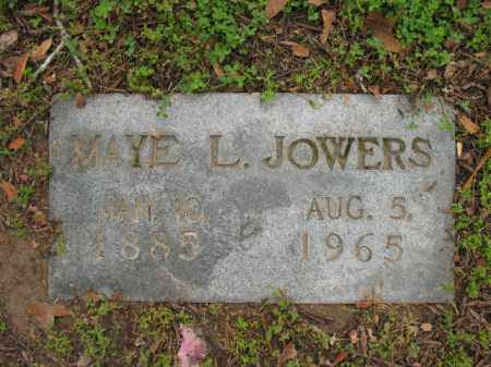 JOWERS, MAYE L - Jackson County, Arkansas | MAYE L JOWERS - Arkansas Gravestone Photos