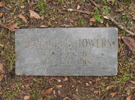 JOWERS, MAYE DALE - Jackson County, Arkansas | MAYE DALE JOWERS - Arkansas Gravestone Photos