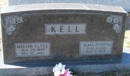 KELL, MELVIN CLYDE - Jackson County, Arkansas | MELVIN CLYDE KELL - Arkansas Gravestone Photos