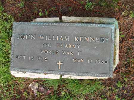KENNEDY (VETERAN WWII), JOHN WILLIAM - Jackson County, Arkansas | JOHN WILLIAM KENNEDY (VETERAN WWII) - Arkansas Gravestone Photos
