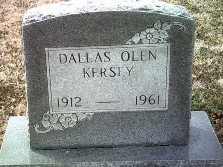 KERSEY, DALLAS OLEN - Jackson County, Arkansas | DALLAS OLEN KERSEY - Arkansas Gravestone Photos