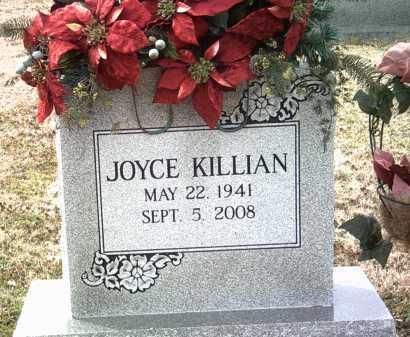KILLIAN, JOYCE G - Jackson County, Arkansas   JOYCE G KILLIAN - Arkansas Gravestone Photos
