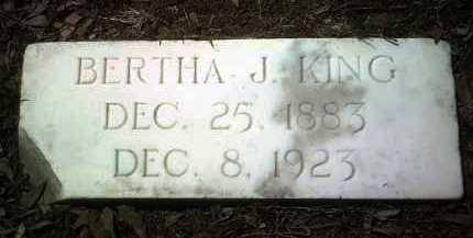 KING, BERTHA J - Jackson County, Arkansas | BERTHA J KING - Arkansas Gravestone Photos