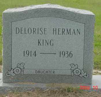 KING, DELORISE - Jackson County, Arkansas | DELORISE KING - Arkansas Gravestone Photos