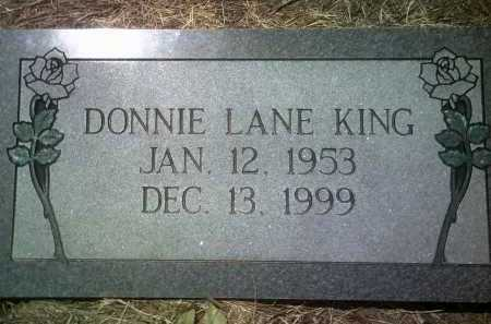 KING, DONNIE LANE - Jackson County, Arkansas | DONNIE LANE KING - Arkansas Gravestone Photos