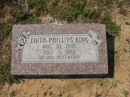 KING, EDITH - Jackson County, Arkansas | EDITH KING - Arkansas Gravestone Photos