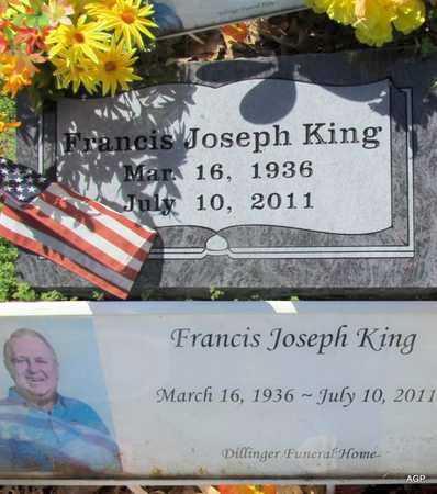 KING, FRANCIS JOSEPH - Jackson County, Arkansas | FRANCIS JOSEPH KING - Arkansas Gravestone Photos